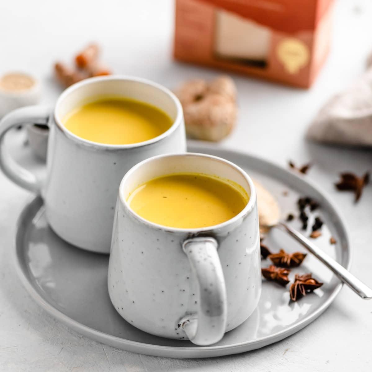 Golden Milk Maca Latte